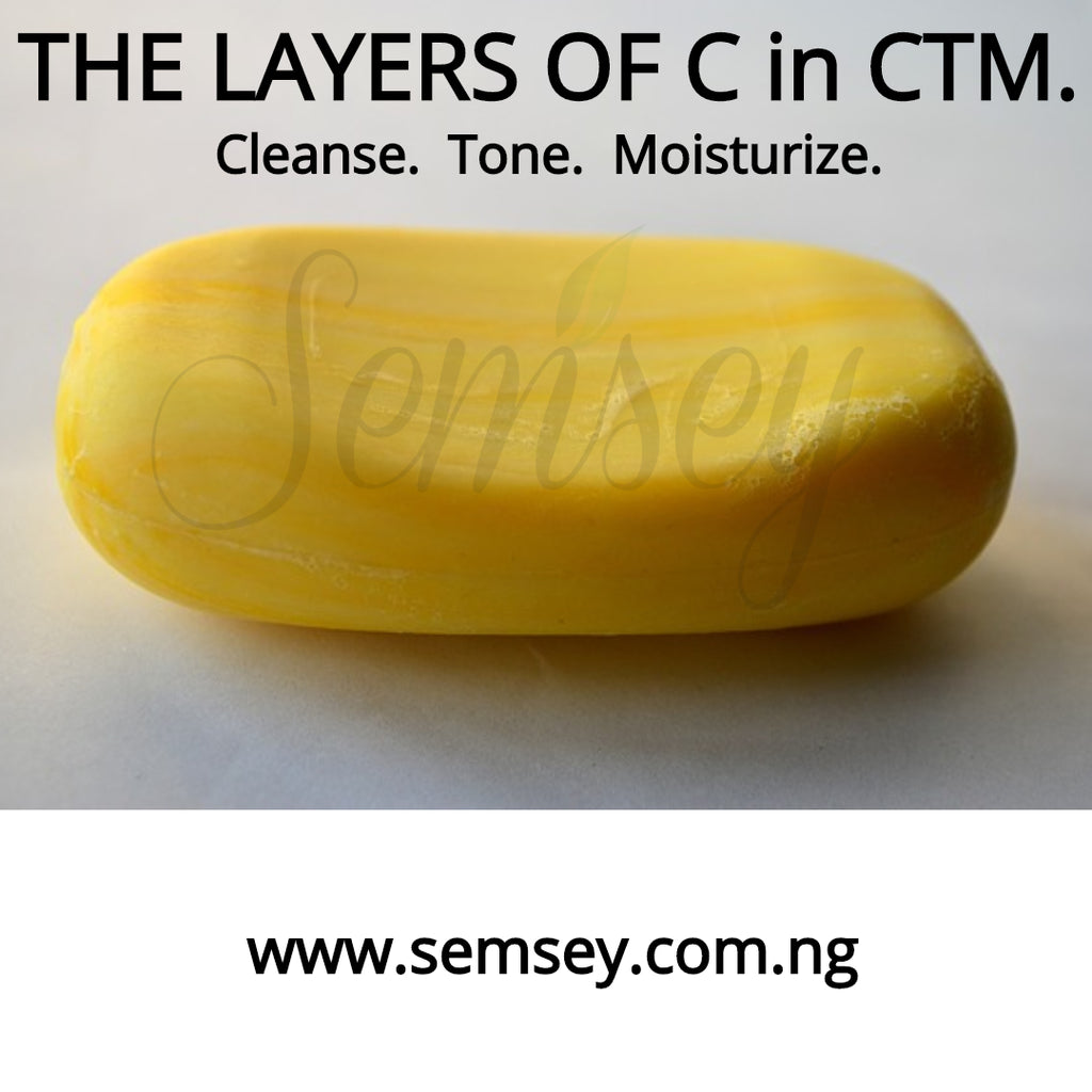 The Layers of C in CTM (Cleanse. Tone.  Moisturize)