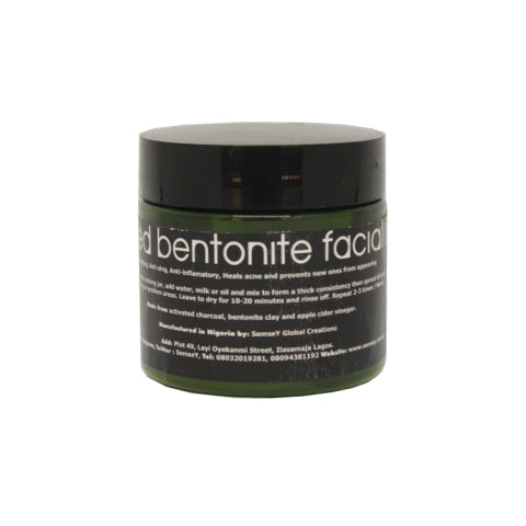 ACTIVE CHARCOAL FACE MASK