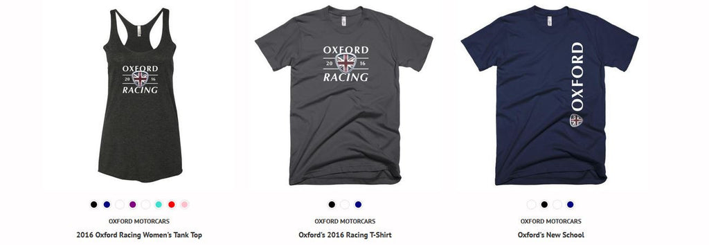 Oxford Summer Apparel is Now Available!