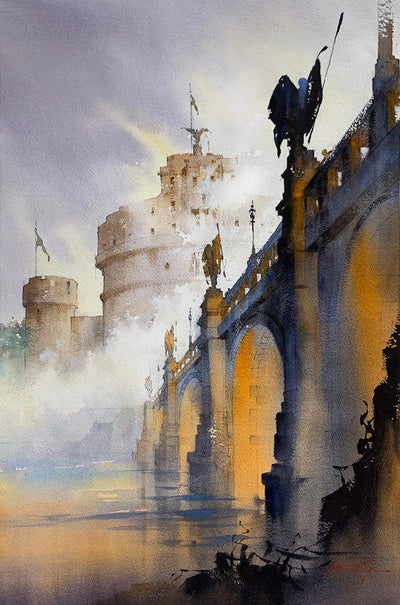 Thomas W. Schaller: Architect of Light - Watercolor Paintings by a Master Hardcover Book