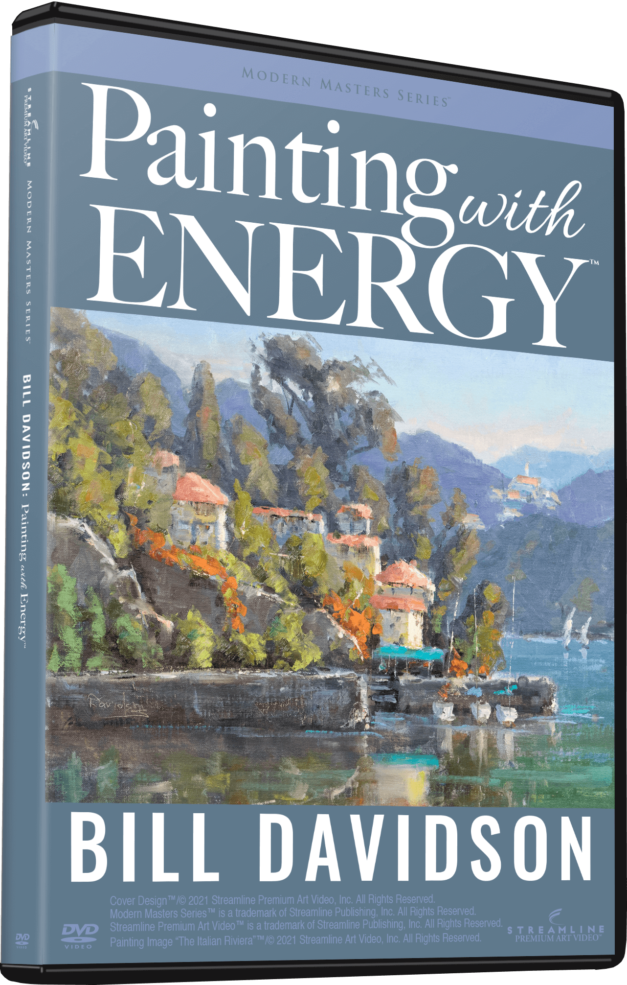 Bill Davidson: Painting With Energy