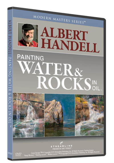 Albert Handell: Painting Water & Rocks in Oil
