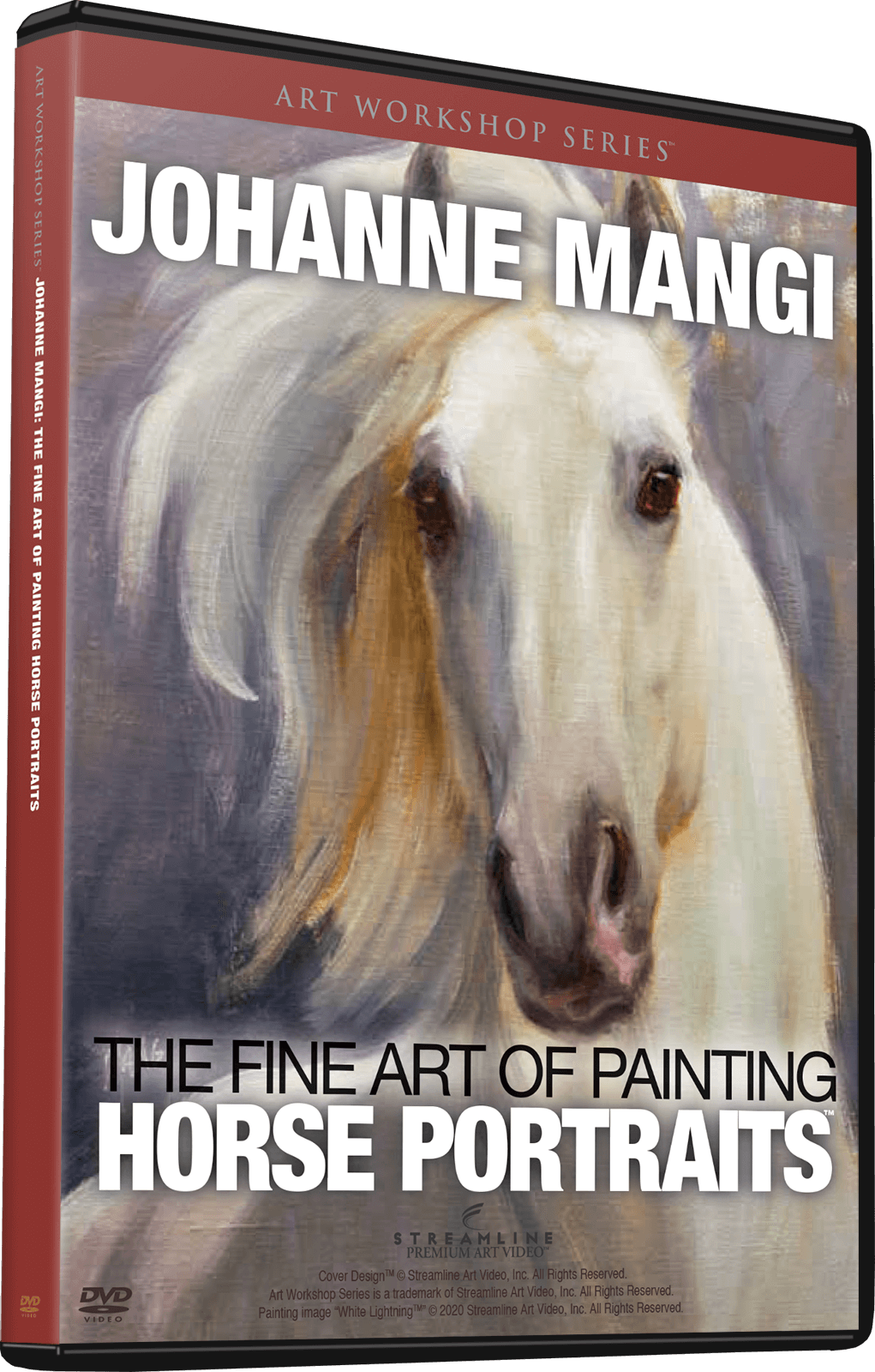 Johanne Mangi: The Fine Art of Painting Horse Portraits