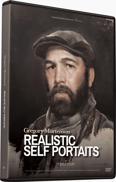 Gregory Mortenson: Realistic Self Portraits