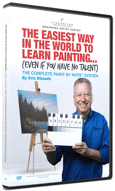 Eric Rhoads: The Easiest Way in the World to Learn Painting (Even If You Have No Talent)