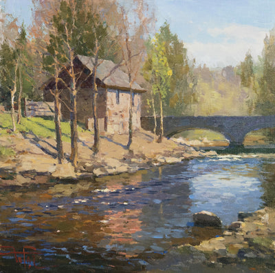 Zufar Bikbov: Landscape Painting in 4 Steps