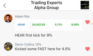 $4,900 day from Alpha Member Rav