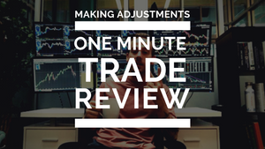 Making Adjustments - One Minute Trade Review - GOOS Long