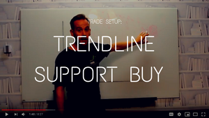 Trade Setup: Trendline Support Buy