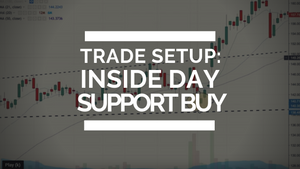 Trade Setup: Inside Day Support Buy