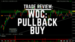 Trade Review: WDC Pullback Buy