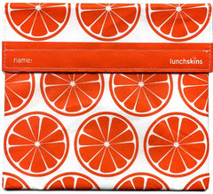 tangerine orange lunchskin sandwich bag