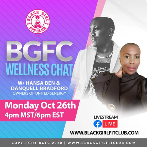 United Senergy  chats with Black Girl Fit Club (BGFC)