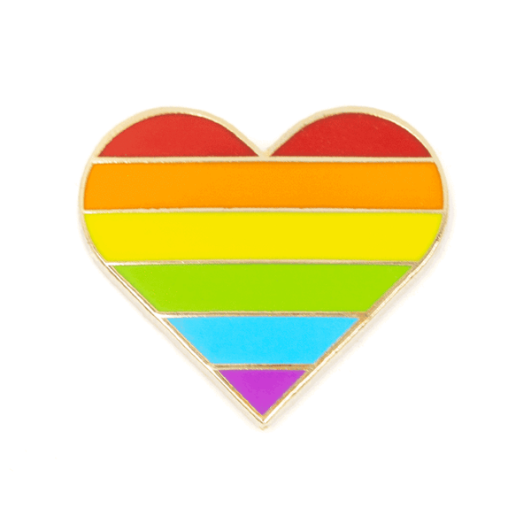 THESE ARE THINGS PINS, RAINBOW PRIDE