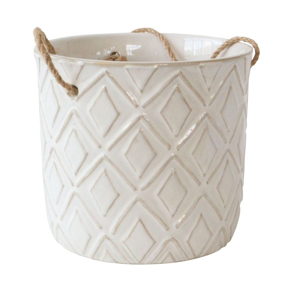 DIAMOND HANGING POT - 7