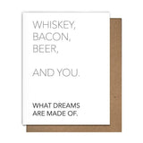 MATT BUTLER CARD - WHISKEY