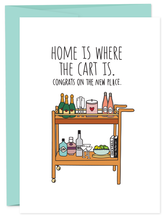 HUMDRUM CARDS - HOME CART BOOZE