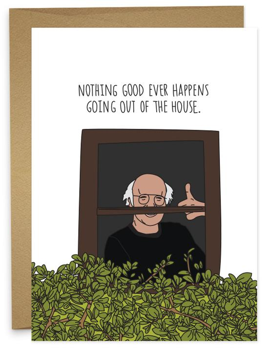 HUMDRUM CARDS - NOTHING GOOD HAPPENS
