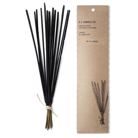 PF CANDLE CO -  INCENSE STICKS, SPRUCE