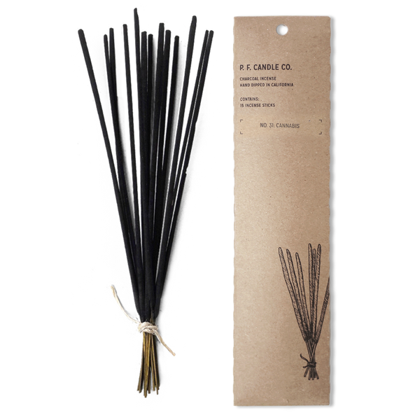 PF CANDLE CO -  INCENSE STICKS, CANNABIS
