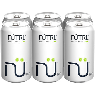 NUTRL Lime Vodka Soda (6 PK)