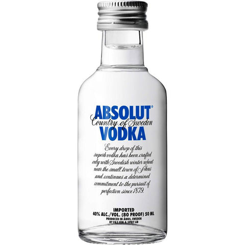 Absolut Vodka (50 mL)