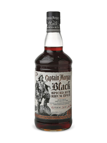 Captain Morgan Black Spiced Rum