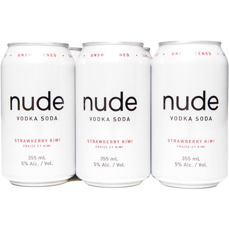 Nude Vodka Soda Strawberry Kiwi (6 PK)