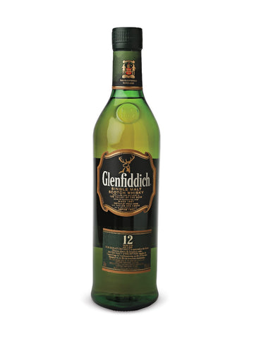 Glenfiddich Single Malt 12 Year Old Scotch Whisky