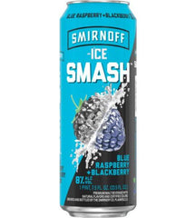 Smirnoff Ice Smash Blue Raspberry & Blackberry (6 PK)