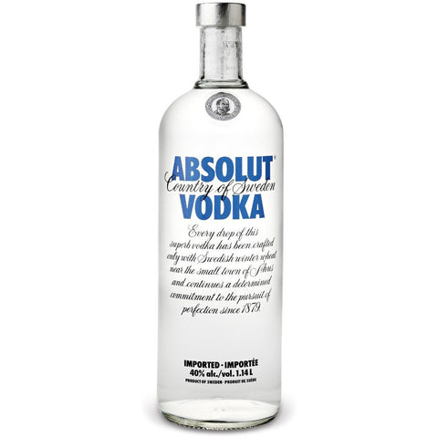 Absolut Vodka (1.14 L)
