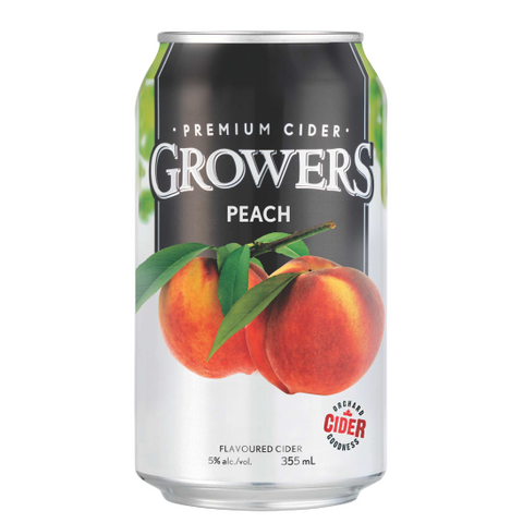 Growers Peach (6 PK)