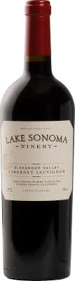 Lake Sonoma Alexander Valley Cabernet