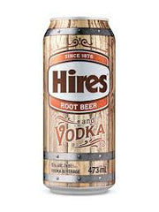 Hires Root Beer and Vodka (473 mL)
