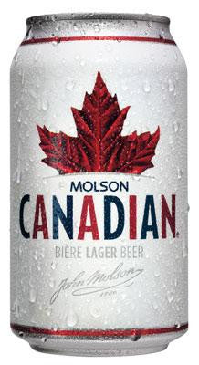 Molson Canadian (710 mL Can)