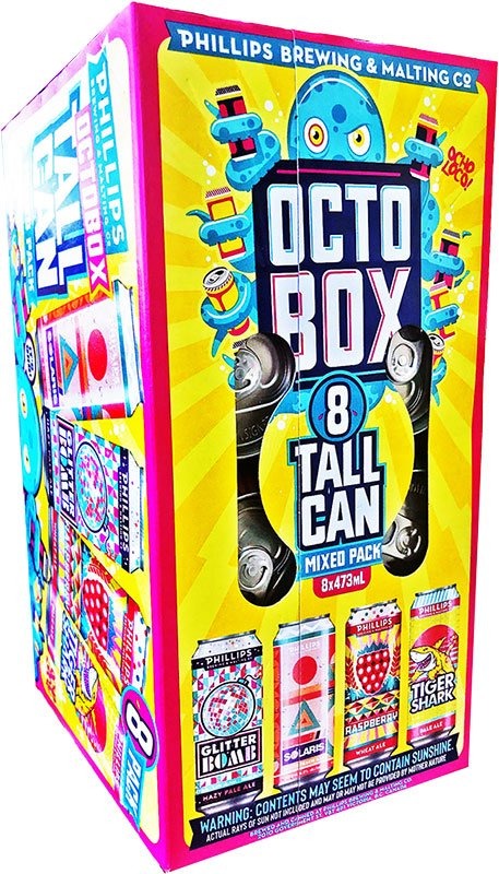 Phillips Summer Octo Box (8 PK)