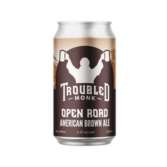 Troubled Monk Open Road Brown Ale (6 PK)