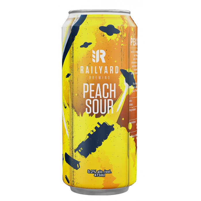 Railyard Peach Sour (4 PK)