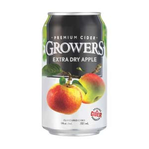 Growers Extra Dry Apple (6 PK)