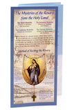 Mysteries of the Rosary Prayer Card and Rosary