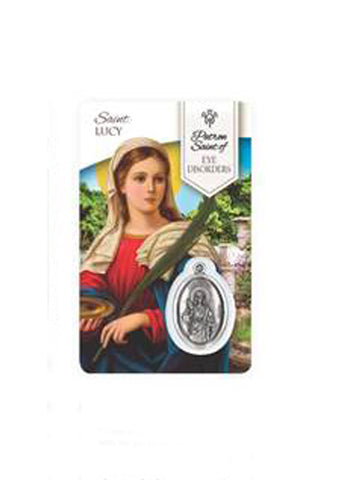 Prayer Card - Saint Lucy
