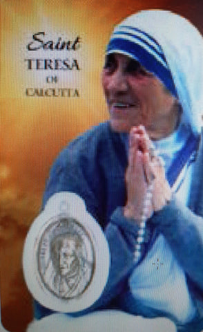 St. Teresa Calcutta Card