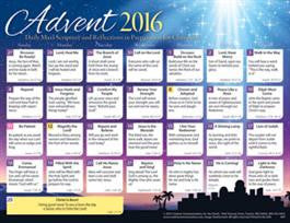 2016 Adult Advent Calendar (pk of 50)