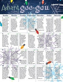 2016 Teen Advent Calendar (pk of 25)