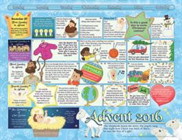 2016 Children's Advent Calendar (pk of 50)