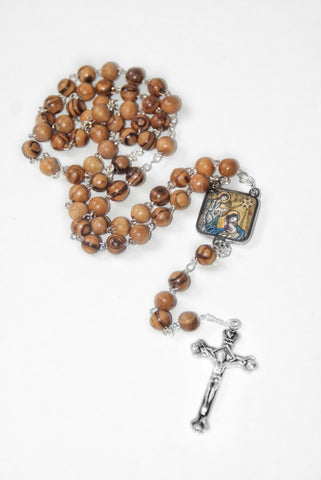 Christmas Rosary & Prayer Card