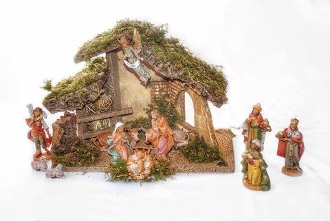 Fontanini Nativity Crib Set