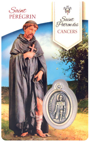 Prayer Card - Saint Peregrine
