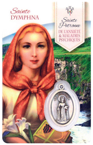 Prayer Card - Saint Dymphna