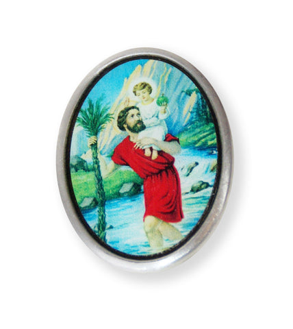 Visor Clip of St.Christopher // CT19